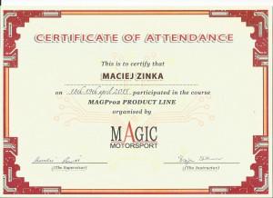 Certyfikat MagicMotorSport 300x218
